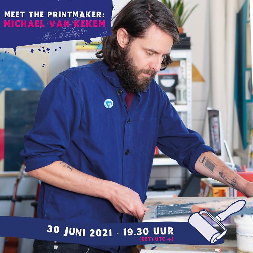 Meet the printmaker: Michael van Kekem (Engels)