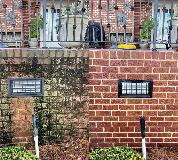 Brick Cleaning Pressure Washing