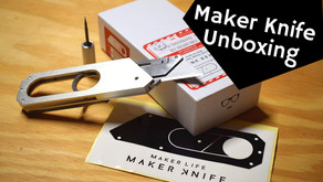 Maker Knife Unboxing and Review