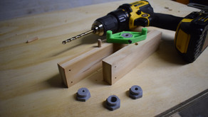 How To Make a 3D Printed Drill Jig for Dowel Joints with Removable Inserts
