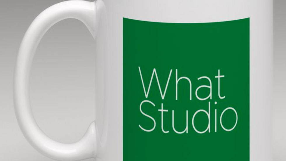 What Studio's Suggested Hot Drink of Your Choice Mug