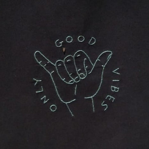 """Sacola """"Only good vibes"""""""
