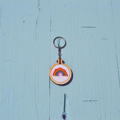 "Porta-chaves ""Arco-Íris"""