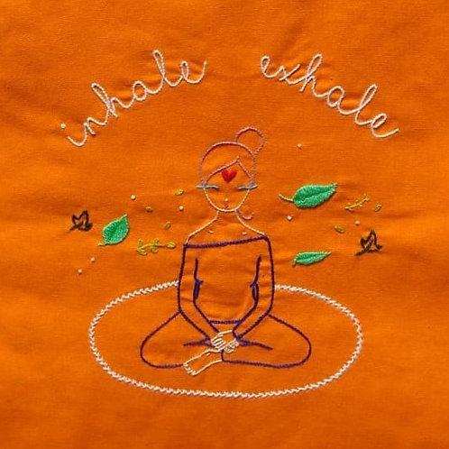 "Sacola ""Inhale Exhale"""