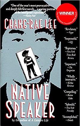 Native Speaker by Chang-Rae Lee