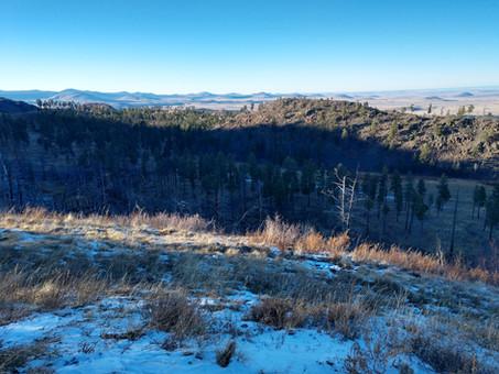 Description Practice: Winter Mountains