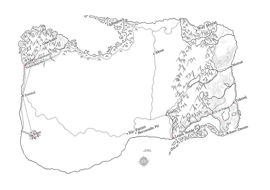 Map of Tehrahey