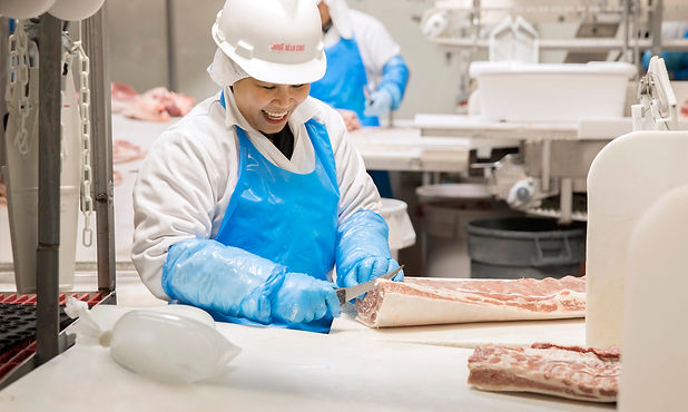 Trochu meat cutting floor