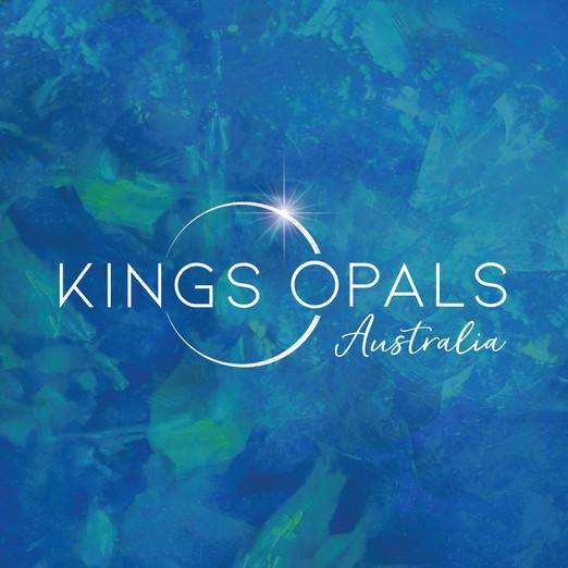 Kings Opals Australia Branding by Wild Honey Creative