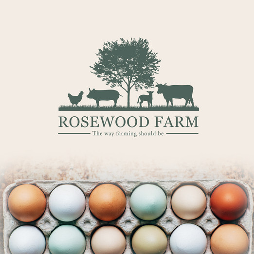 Rosewood Farm Branding by Wild Honey Creative