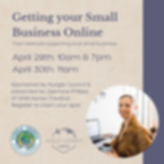 Getting Your Small Business Online Webin