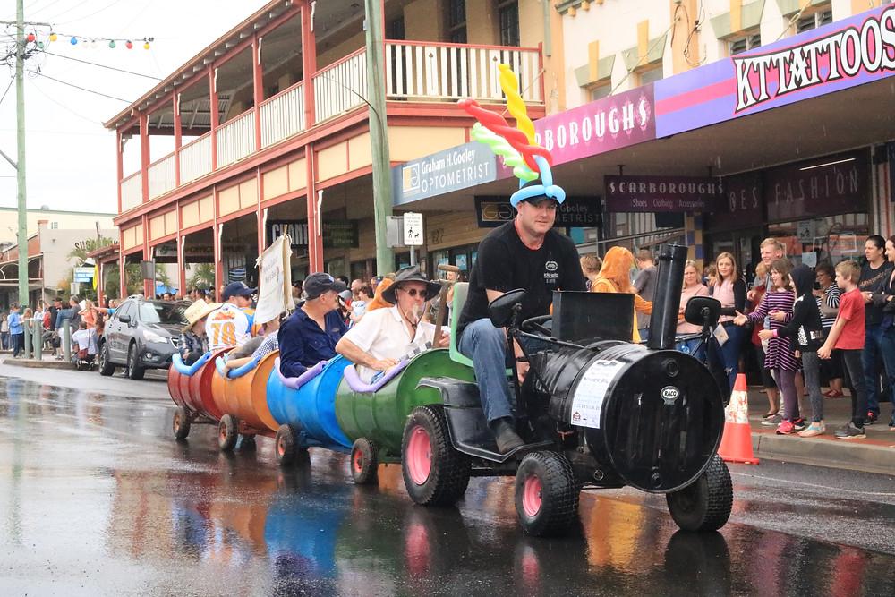 Kyogle Fairymount Festival Parade, 2017