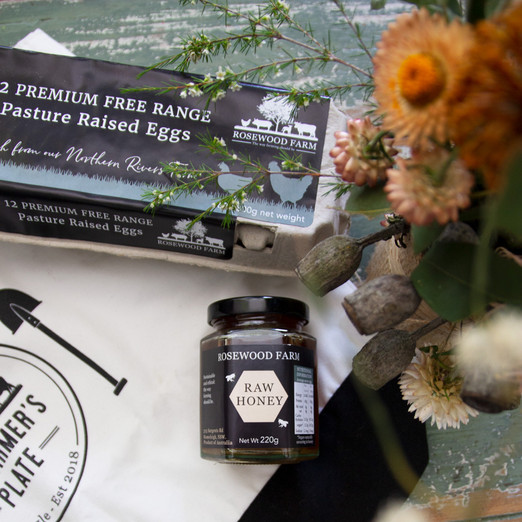 Branding and Packaging for Rosewood Farm by Wild Honey Creative