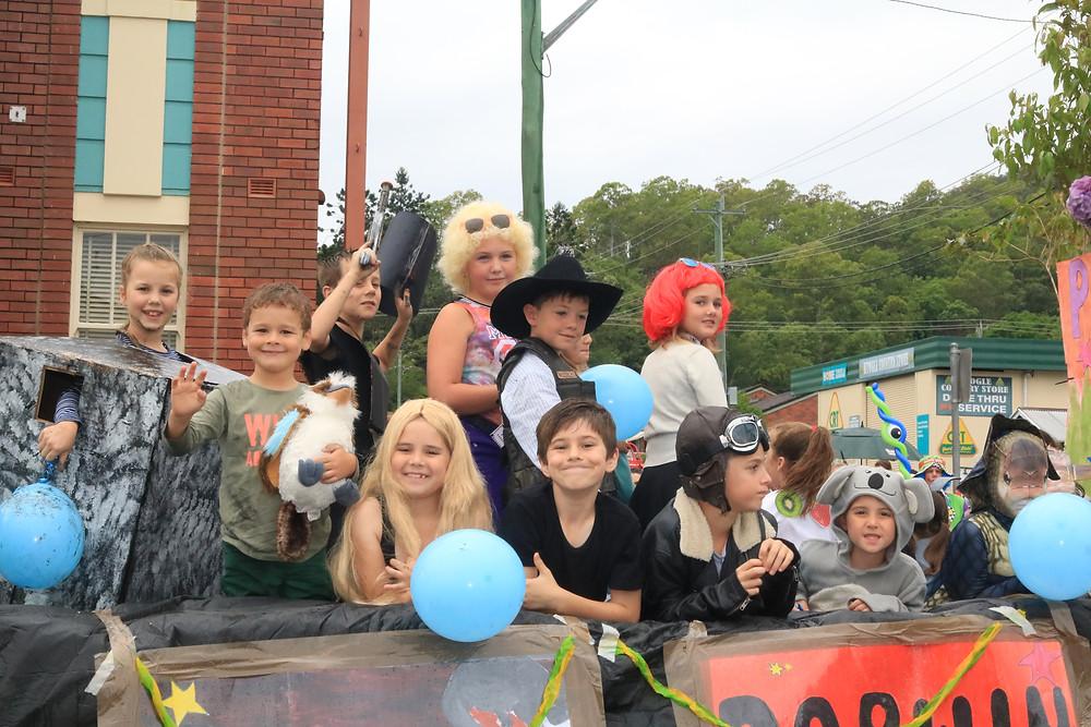 2017 Kyogle Fairymount Festival Parade.