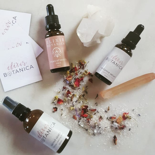 Elixir Botanica Branding