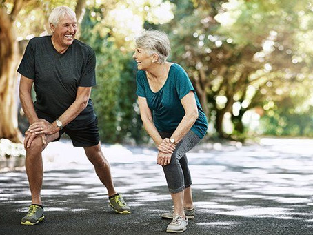 Get Moving! Benefits and exercise suggestions for older adults