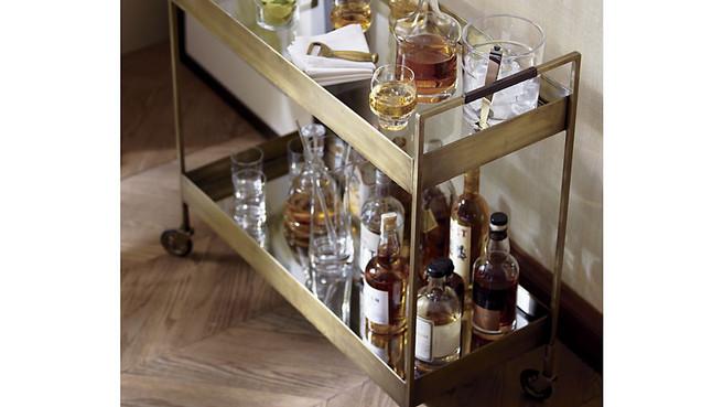 How I Stock My Whiskey Bar