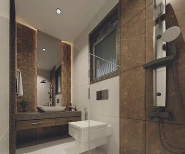 Bathroom designed by Indecor