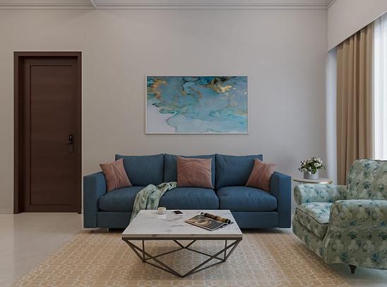 Sofa Set Design By Indecor