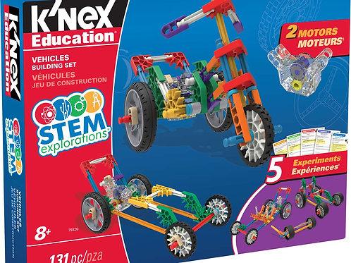 K'NEX Education® STEM Explorations Vehicles Building Set