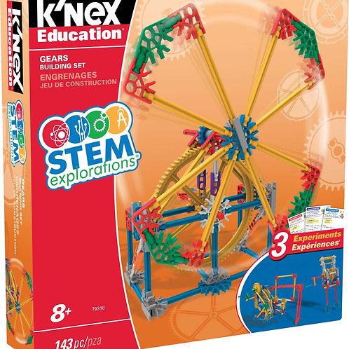 K'NEX Education® STEM Explorations Gears Building Set