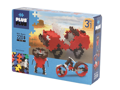 Plus Plus Basic (220 pcs) 3 in 1