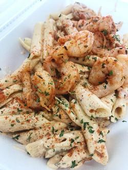 Blackened Shrimp Cajun Pasta