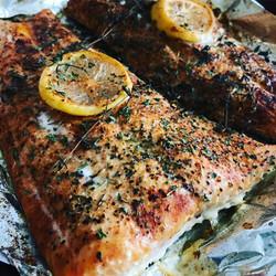 Rosemary & Lemon Baked Salmon