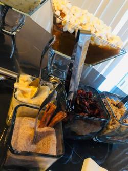 Sweet Potato-Tini Bar