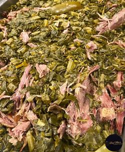 Smoked Turkey Neck Collard Greens