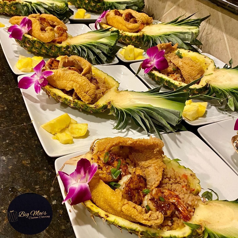 Pineapple Boats