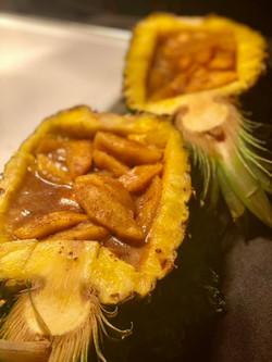 Apple Pineapple Boat