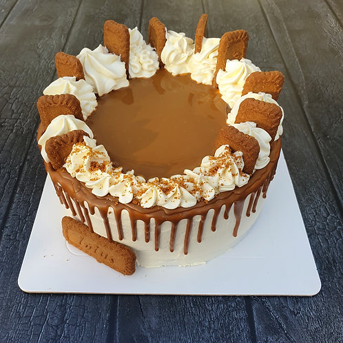 "Biscoff Drip Cake (8"")"