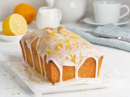 VEGAN Lemon + Polenta Loaf