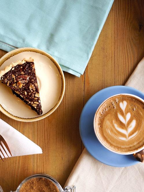 """Chocolate & Pecan Tart (8"""")"""