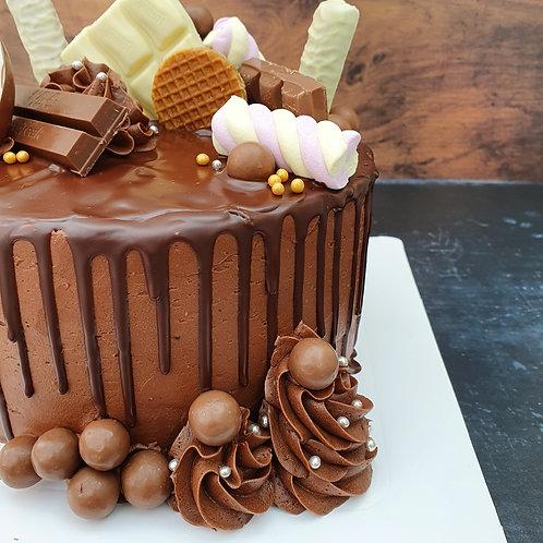 "8"" Stash of Candy Chocolate Cake"