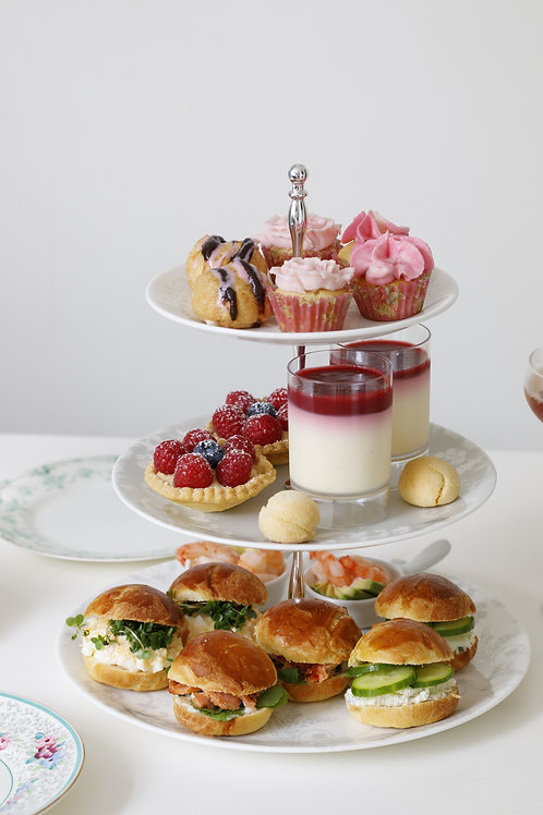 <EXTRA PORTION> Afternoon Tea For One
