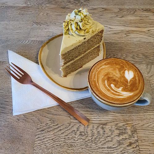 """8"""" Roasted Sicilian Pistachio Cake"""