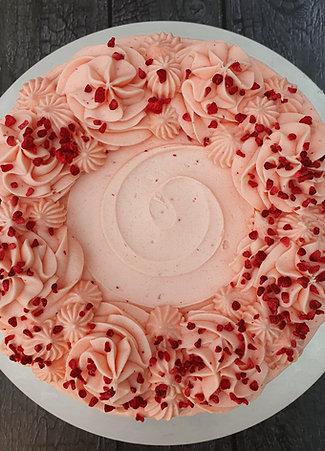 "6"" Strawberry Cake"