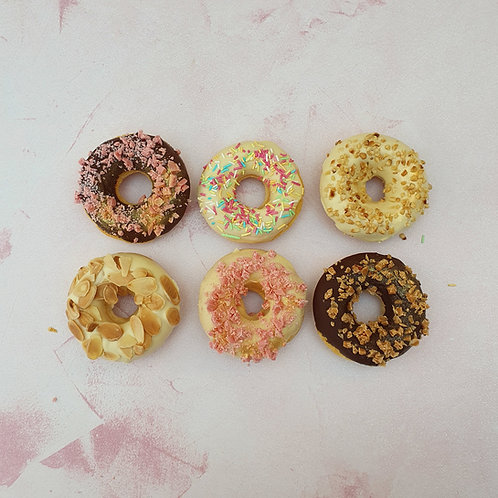 6x GLUTEN FREE Baked Donuts