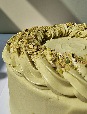 Roasted Sicilian Pistachio Cake