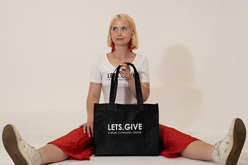 Lets.Give Tote Bag