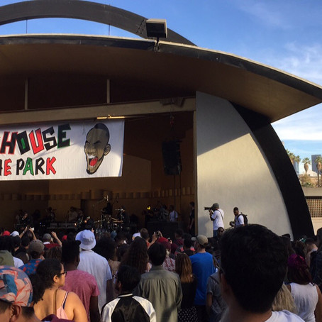 ANDERSON PAAK CONCERT IN THE PARK!