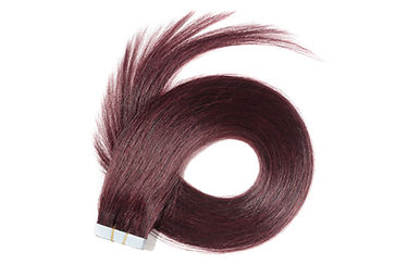 Straight claret adhesive tape in remy hu