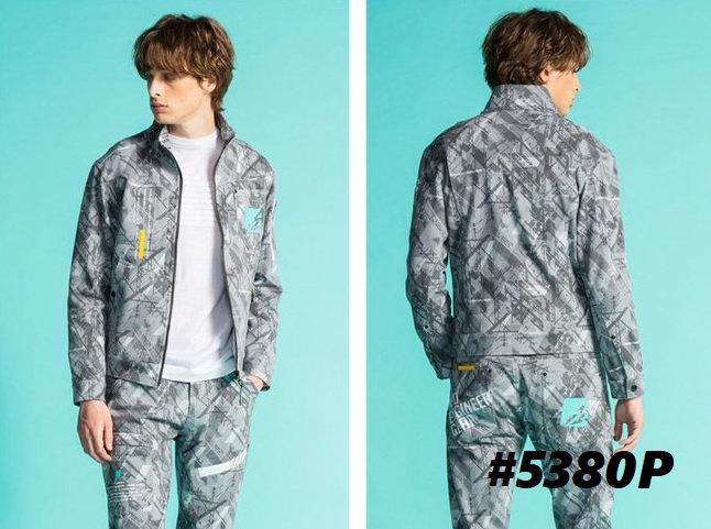 アイズフロンティア #5380(P) ヘビージャージーワークジャケット