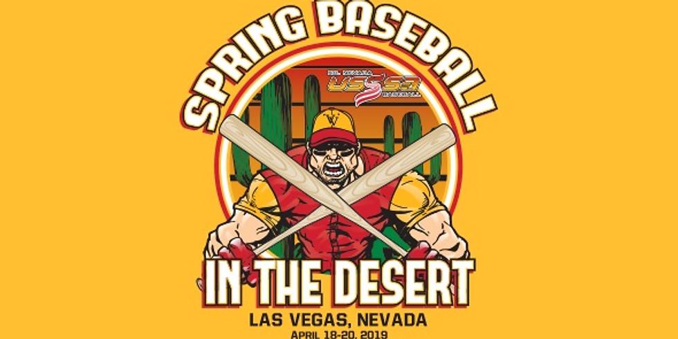 Spring Baseball In the Desert