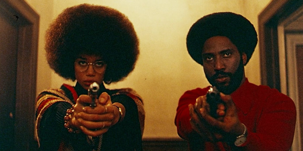 ron-stallworth-and-patrice-in-blackkklansman