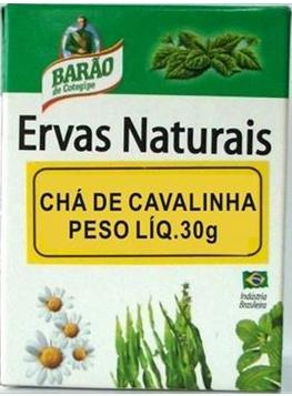 Chá de Cavalinhaem erva