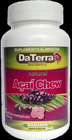 Açaí Chew 60 pastilhas (アサイー60粒)