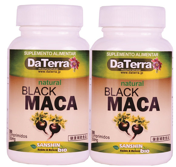 Black Maca 300 comprimidos x 2 frascos